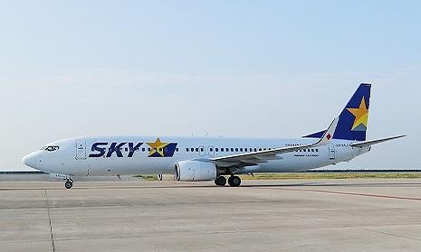 スカイマークの機体